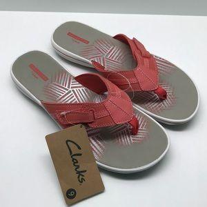 Clarks Women's Brinkley Bree Flip Flops